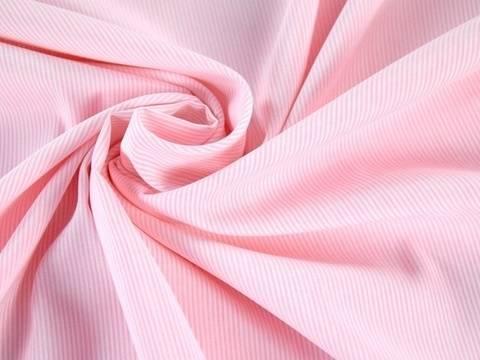 Rosafarbener Polyester-Stretch - 140 cm kaufen im Makerist Materialshop