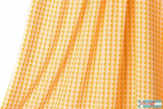 Senfgelber Jacquard lillestoff: Dance All Night - 130 cm - Stoffe kaufen im Makerist Materialshop