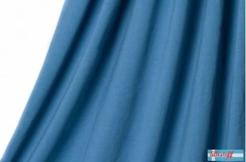 Taubenblauer Bio-Jersey lillestoff - 150 cm kaufen im Makerist Materialshop