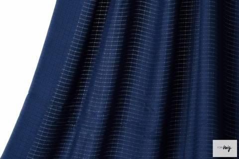 Dunkelblauer Bambusstoff lillestoff - 120 cm kaufen im Makerist Materialshop