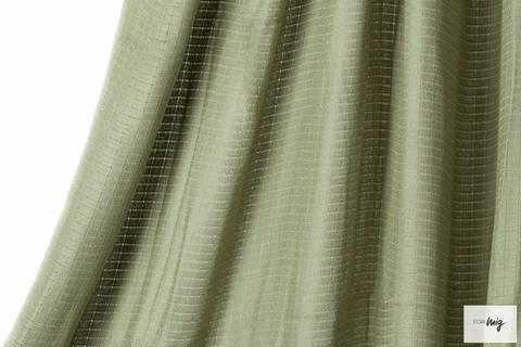 Hell-olivfarbener Bambusstoff lillestoff - 120 cm kaufen im Makerist Materialshop