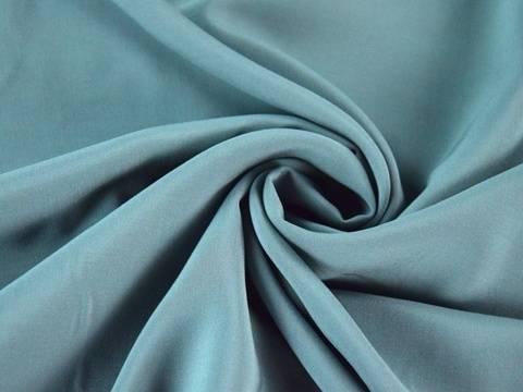 Blaugraue Viskose Voile: Uni - 135 -140 cm kaufen im Makerist Materialshop