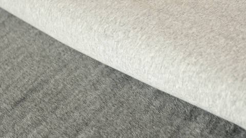 Hellgrauer Uni Happy Fleece - 150 cm kaufen im Makerist Materialshop
