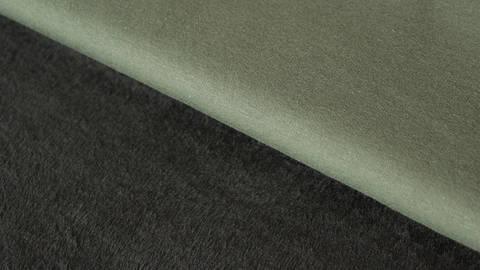 Khakifarbener Uni Happy Fleece - 150 cm kaufen im Makerist Materialshop