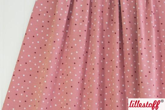 Rosafarbener Bio-Jersey lillestoff: Glitzerblub - 160 cm - Stoffe kaufen im Makerist Materialshop