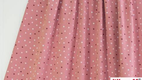 Rosafarbener Bio-Jersey lillestoff: Glitzerblub - 160 cm kaufen im Makerist Materialshop