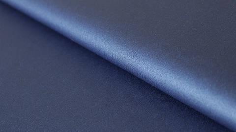 Dunkelblau beschichtetes Wachstuch: Luisa - 155 cm kaufen im Makerist Materialshop