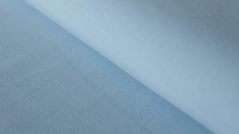Hellblauer Uni Jerseystoff: Gitte - 160 cm kaufen im Makerist Materialshop