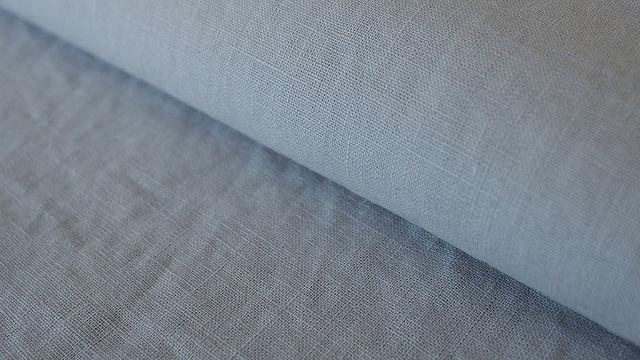 Silbergrauer Leinenstoff: Damiel - 140 cm - Stoffe kaufen im Makerist Materialshop