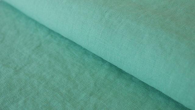 Mintfarbener Leinenstoff: Damiel - 140 cm - Stoffe kaufen im Makerist Materialshop