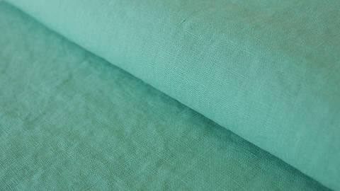 Mintfarbener Leinenstoff: Damiel - 140 cm kaufen im Makerist Materialshop