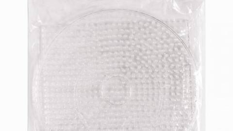 2 große Legeplatten für Bügelperlen: rund und eckig kaufen im Makerist Materialshop