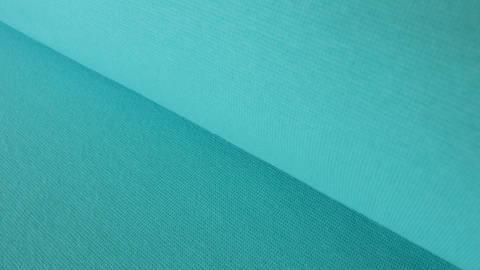 Türkisfarbener Bündchenstoff: Heike - 100 cm kaufen im Makerist Materialshop