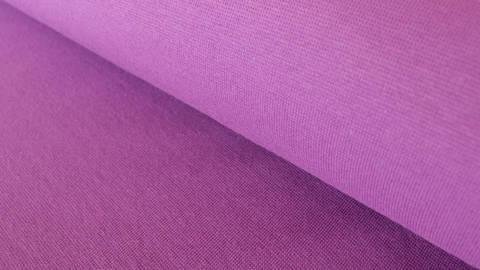 Lilafarbener Bündchenstoff: Heike - 100 cm kaufen im Makerist Materialshop