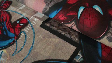 Bunter Lizenz Baumwollstoff: Spiderman - 150 cm kaufen im Makerist Materialshop