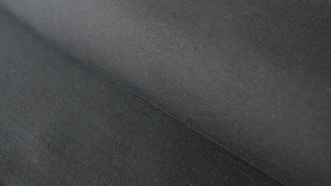 Acheter Jersey de coton noir : French Terry - 160 cm dans la mercerie Makerist