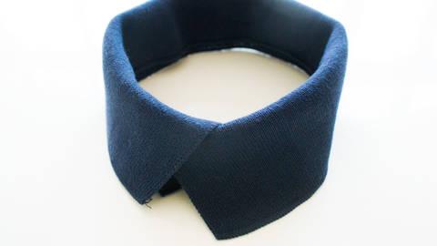 Polokragen Größe L - A10 blue navy kaufen im Makerist Materialshop
