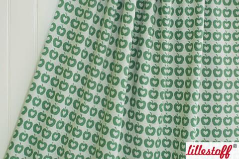 Grüner Jacquard lillestoff: Apple Liefde - 160 cm kaufen im Makerist Materialshop