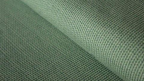 Hellgrüner Hamburger Liebe Elastic-Jersey mélange: knit knit - 130 cm kaufen im Makerist Materialshop