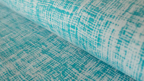 Petrol-silbergrauer Jersey: Megan Blue Tricot Drawing - 150 cm kaufen im Makerist Materialshop