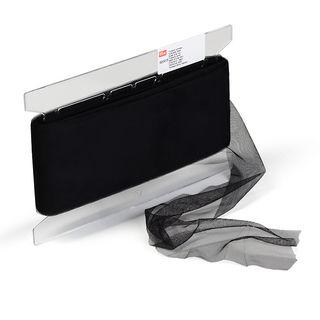 Tüllband 100 mm schwarz - Kurzwaren und Zubehör kaufen im Makerist Materialshop