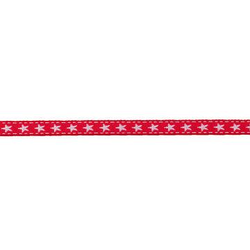 Borte mit Stern 10 mm rot/weiß - Kurzwaren und Zubehör kaufen im Makerist Materialshop