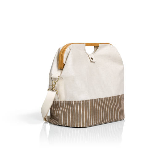 Store & Travel Bag canvas & bamboo S natur kaufen im Makerist Materialshop