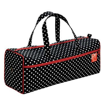Handarbeitstasche Polka Dots schwarz/weiß - Kurzwaren und Zubehör kaufen im Makerist Materialshop