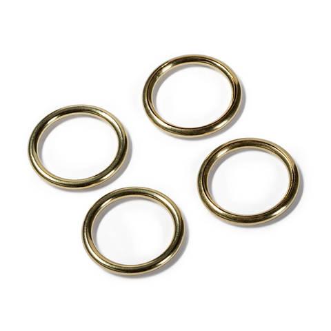 Hohlringe MS 18/23 mm goldfarbig kaufen im Makerist Materialshop
