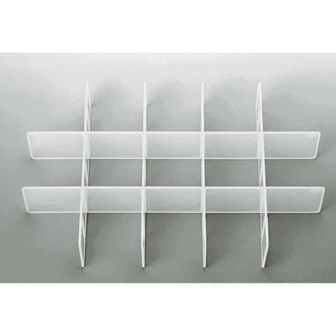 Sortiereinsatz für Click Box Jumbo 39,8x25,7x6,7 cm transparent kaufen im Makerist Materialshop