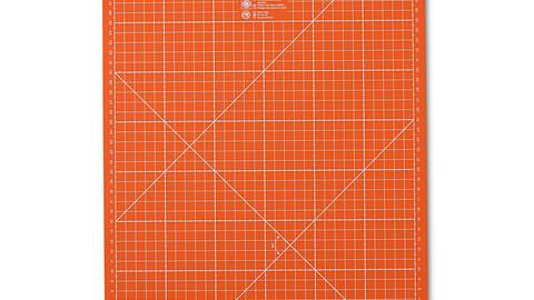 Schneideunterlage 30 x 45 cm cm/inch orange kaufen im Makerist Materialshop