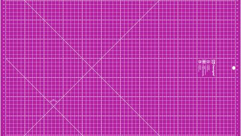 Schneideunterlage 45 x 60 cm cm/inch pink kaufen im Makerist Materialshop