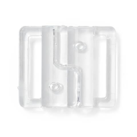 Bikini- und Gürtelverschluss KST 20 mm transparent kaufen im Makerist Materialshop