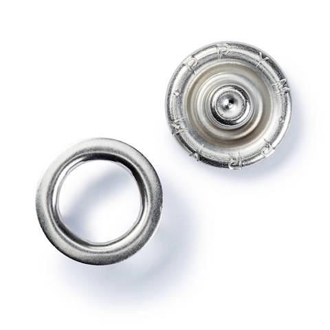 NF-Druckknopf Jersey Zackenring MS 10 mm silberfarbig kaufen im Makerist Materialshop