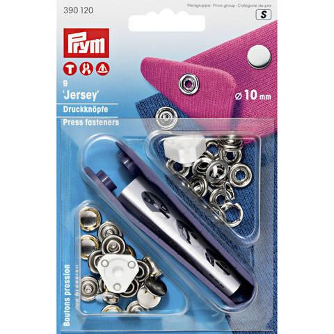 NF-Druckknopf Jersey gl. Kappe MS 10 mm silberfarbig kaufen im Makerist Materialshop