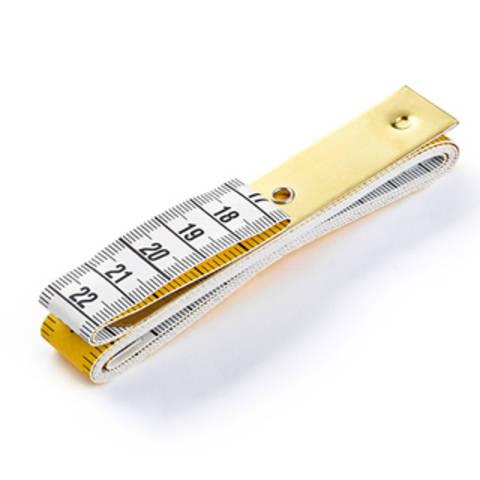 Maßband Profi mit Metallplatte 150 cm 60 inch (WW282175) kaufen im Makerist Materialshop