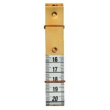 Maßband Profi mit Metallplatte 150 cm 60 inch (WW282330) - Kurzwaren und Zubehör kaufen im Makerist Materialshop