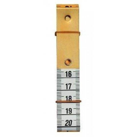 Maßband Profi mit Metallplatte 150 cm 60 inch (WW282330) kaufen im Makerist Materialshop
