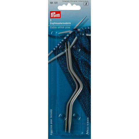 Zopfmusternadeln ALU 2,50 + 4,00 mm grau kaufen im Makerist Materialshop