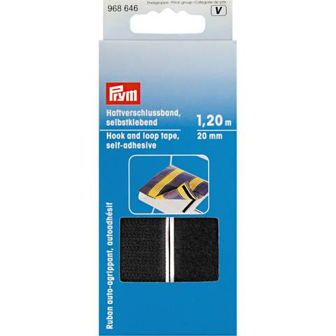 Haftverschlussband selbstklebend 20 mm schwarz (A968646) kaufen im Makerist Materialshop