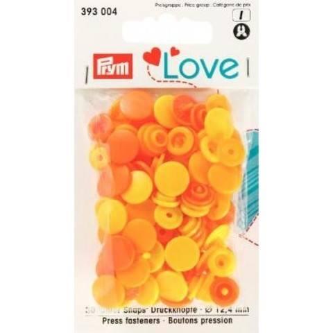 Prym Love Druckknopf Color KST 12,4 mm gelb kaufen im Makerist Materialshop