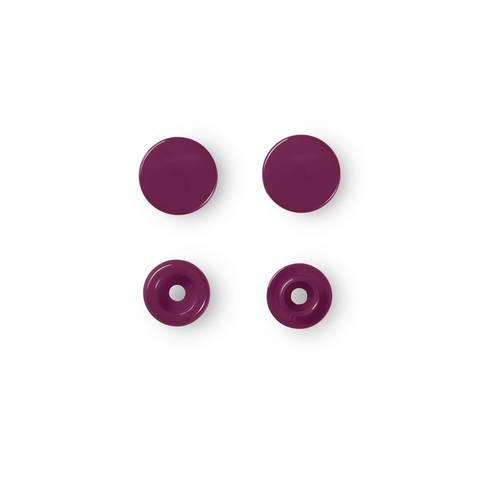 NF Druckkn Color Snaps rund 12,4 mm weinrot kaufen im Makerist Materialshop