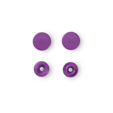 NF Druckknöpfe Color Snaps rund 12,4 mm lila 30 Stück kaufen im Makerist Materialshop
