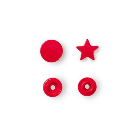 NF Druckkn Color Snaps Stern rot kaufen im Makerist Materialshop