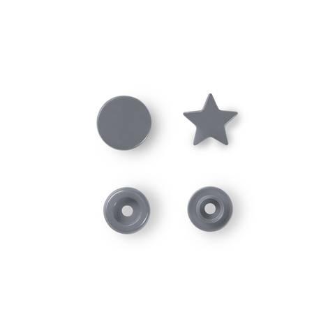 NF Druckknöpfe Color Snaps Stern silbergrau 30 Stück kaufen im Makerist Materialshop