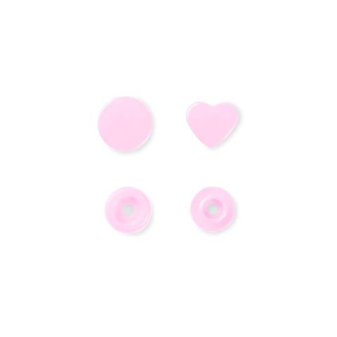 NF Druckkn Color Snaps Herz rosa kaufen im Makerist Materialshop