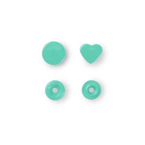 NF Druckkn Color Snaps Herz mint kaufen im Makerist Materialshop