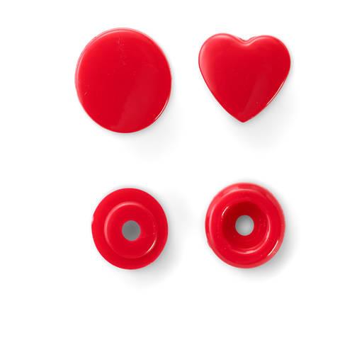 NF Druckkn Color Snaps Herz rot kaufen im Makerist Materialshop