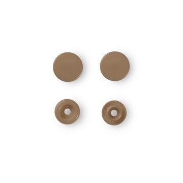 NF Druckknöpfe Color Snaps rund 12,4 mm gold 30 Stück - Kurzwaren und Zubehör kaufen im Makerist Materialshop