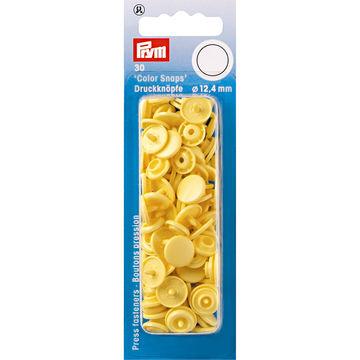 NF Druckkn Color Snaps rund 12,4 mm banane - Kurzwaren und Zubehör kaufen im Makerist Materialshop